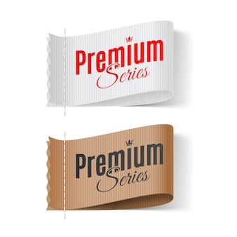 Etykiety z serii premium