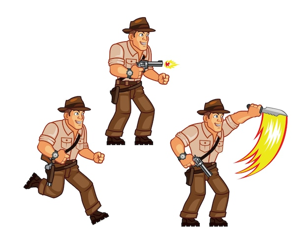 Explorer sprite postaci gry