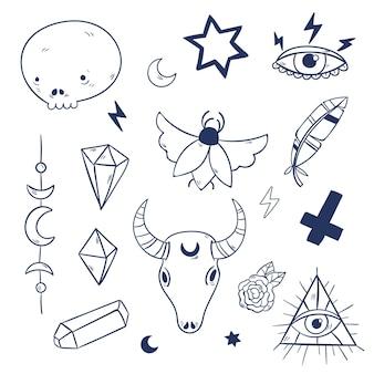 Ezoteryczne elementy mistyczne