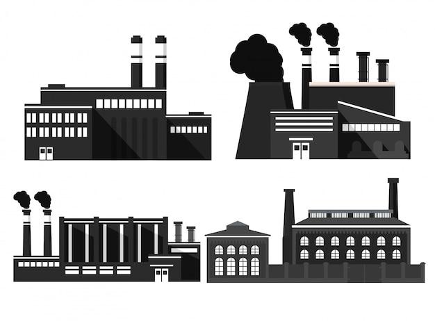 Fabryka budynków przemysłowych.