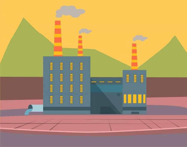 Fabryki i przedsiębiorstwa, produkcja przemysłowa