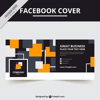 Facebook pokrycie eleganckie kwadraty
