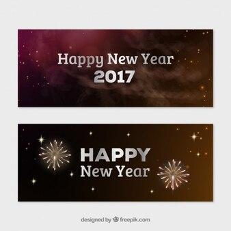 Fajerwerki nowe banery roku