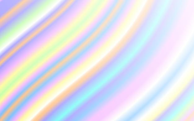 Fala płynny kształt pastelowe tęczy kolor tła