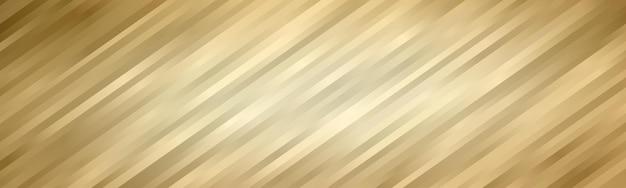 Fala streszczenie tło. tapeta w paski. okładka banera w kolorze złotym