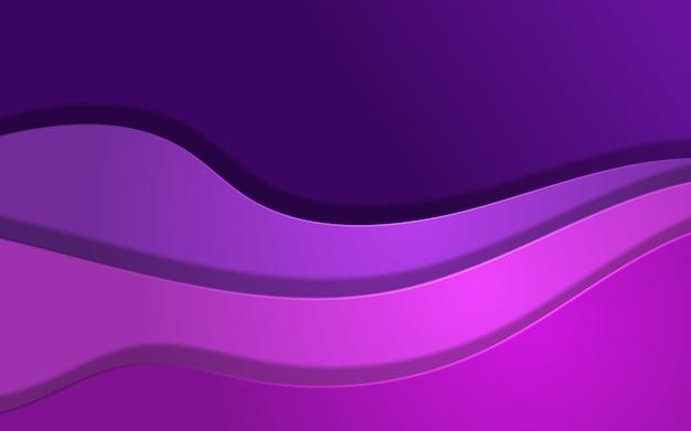 Fala streszczenie tło w kolorach fioletowym