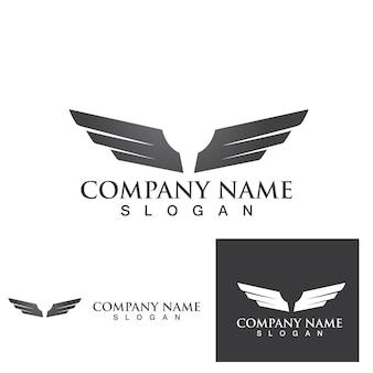 Falcon logo szablon wektor ilustracja projekt