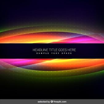 Faliste tle fluorescencyjne