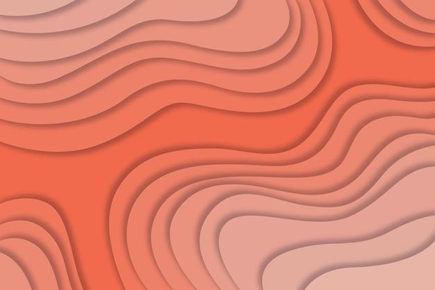 Faliste tło w stylu papieru