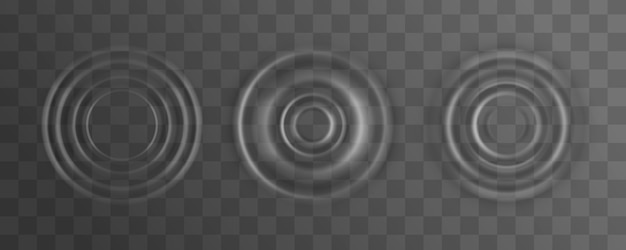 Falowanie, plusk powierzchni fali wodnej z kropli.