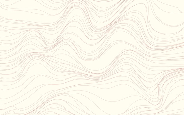 Falowych tekstur tła kremowy wektor