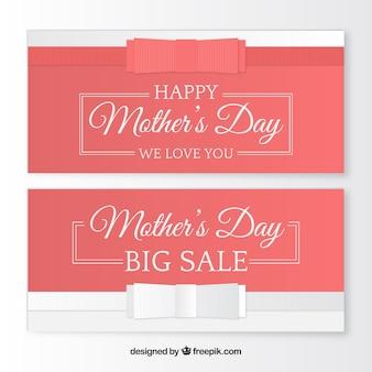 Fantastyczne transparenty sprzedaży na dzień matki