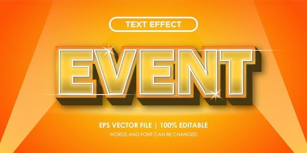 Fantazyjne i eleganckie efekty tekstowe do edycji