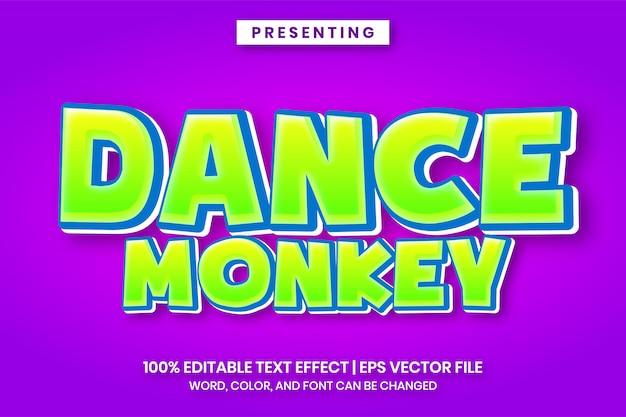 Fantazyjny gradientowy efekt tekstowy 3d dla tytułu logo gry