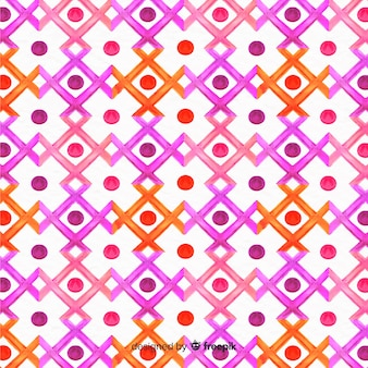 Farby akwarelowe mozaiki tło
