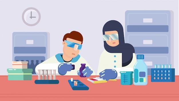 Farmaceuta, nauka, medycyna