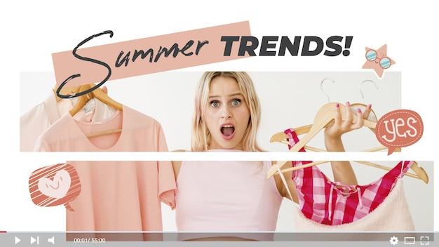Fashion videoblogger miniatura youtube