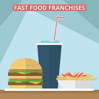 Fast food franchising
