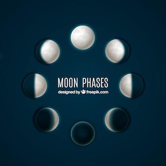 Fazami księżyca