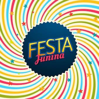 Festa junina festiwal ilustracja karnawał