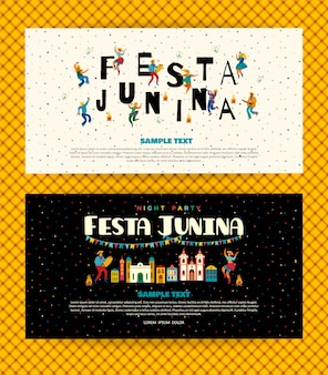 Festa junina. szablony.
