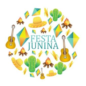 Festa junina tło wakacje