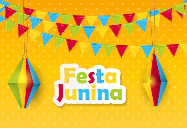 Festa junina tło
