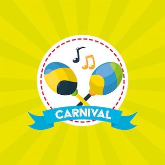 Festiwal karnawałowy w brazylii