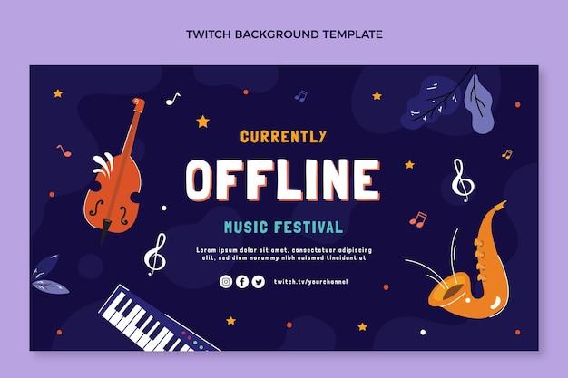 Festiwal muzyczny drga w tle