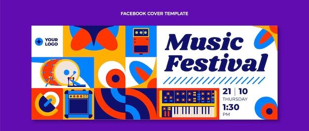 Festiwal muzyki z mozaiki płaskiej