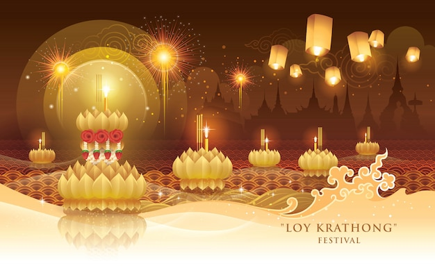 Festiwal thai loy krathong