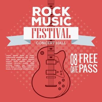 Festiwal ulotki rock musica