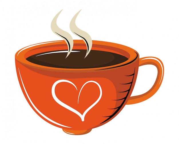 Filiżanka kawy z aromatem