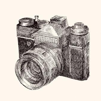 Filmowa kamera retro