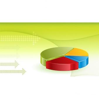 Financial wykresy tło