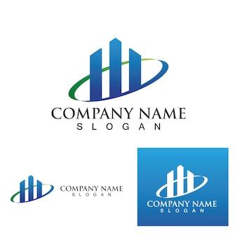 Finanse logo i symbol szablon eps10