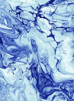 Fioletowa akrylowa tekstura pomalowana olejem lub gwaszem