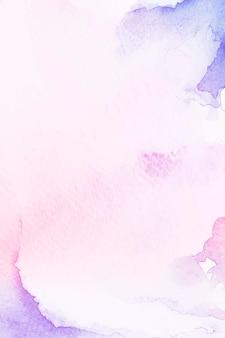 Fioletowe i różowe tło w stylu akwareli