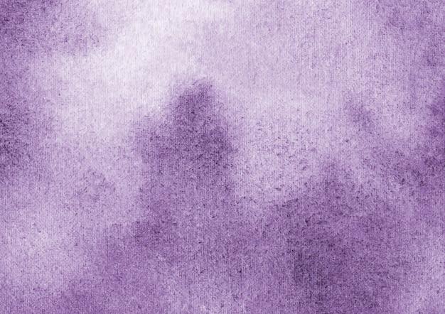 Fioletowe tło akwarela i streszczenie tekstura tło