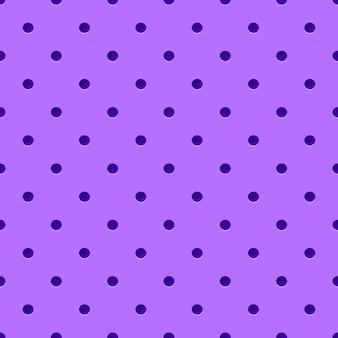 Fioletowe tło kropkowane.