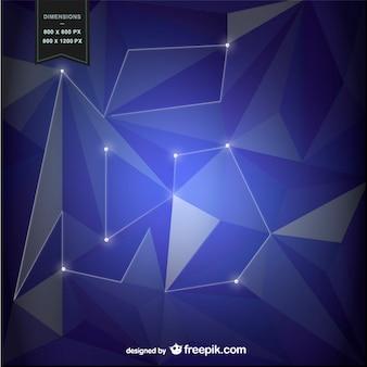 Fioletowe tło z geometrycznych kształtów