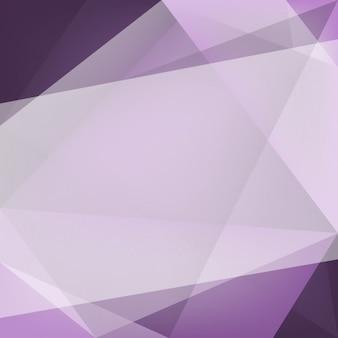 Fioletowe tło z wielokątnych kształtach