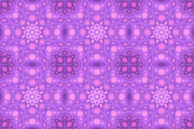 Fioletowy abstrakcyjny wzór płytki bez szwu