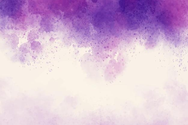 Fioletowy akwarela streszczenie tło