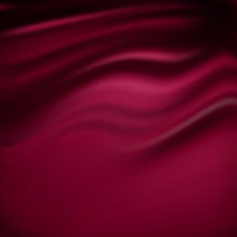 Fioletowy jedwabny materiał satynowy