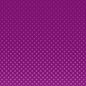 Fioletowy półtonów geometryczne zakrzywione ośmiokąt gwiazda wzór tła