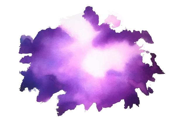 Fioletowy streszczenie akwarela plama tekstura tło