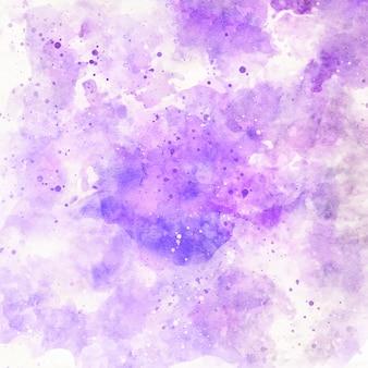 Fioletowy streszczenie tło akwarela