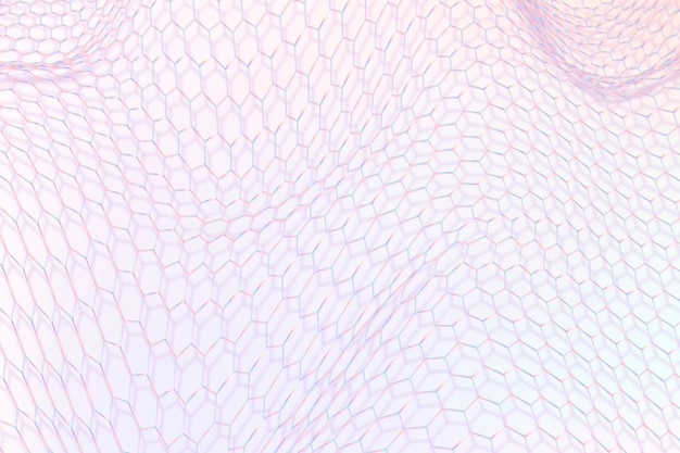 Fioletowy wzór fali 3d