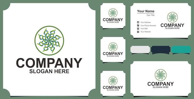 Firma logo mandali ptaków